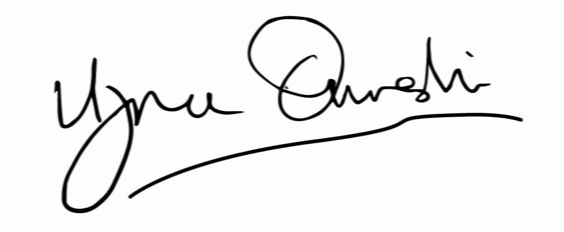Dr Uzma Qureshi Signature