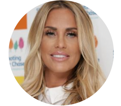 Katie Price TV Presenter & Model and Lipofirm Pro