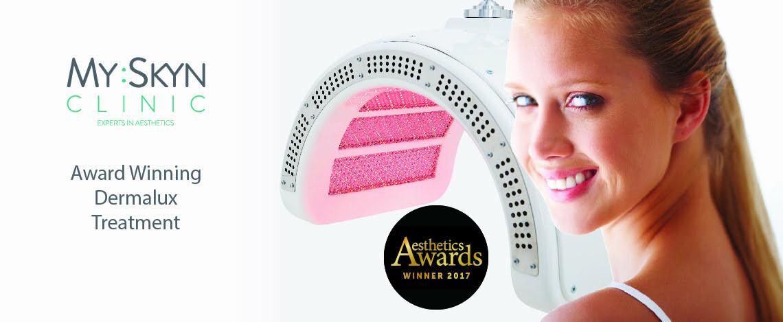 Dermalux LED phototherapy skin treatment at MySkyn Clinic in Bradford