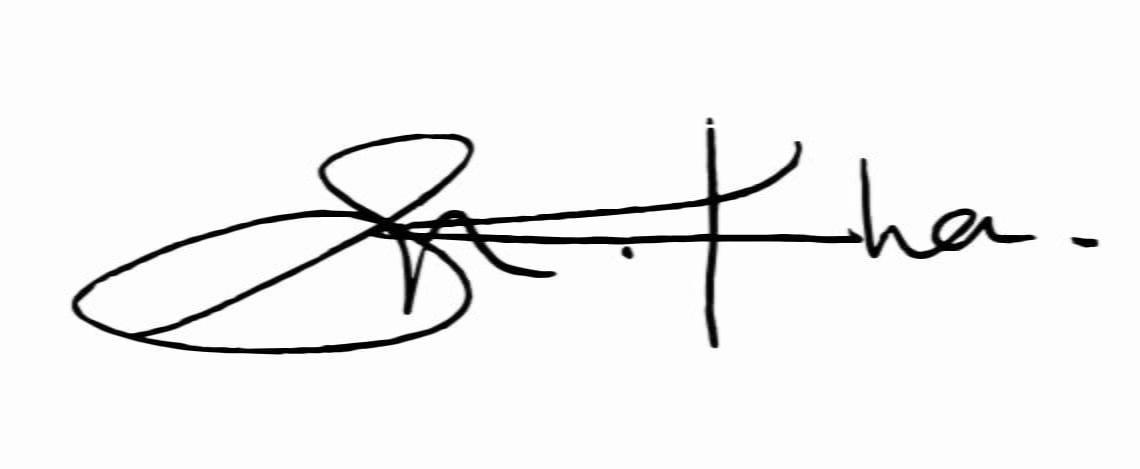 Sadia Naz Khan signature