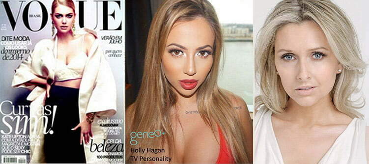 Holly Hagan and Gemma Merna, testimonials for geneO+