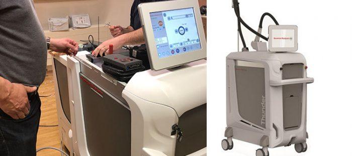 Quanta Thunder MT technology at MySkyn Clinic in Bradford